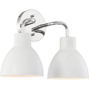 Sloan Nickel Two-Light Vanity