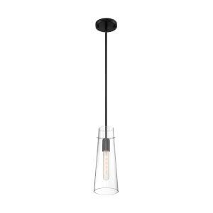 Alondra Black One-Light Mini Pendant