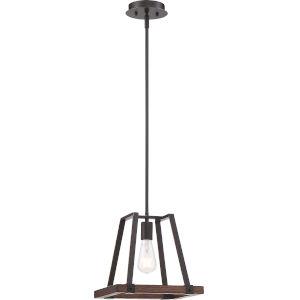 Outrigger Bronze One-Light Mini-Pendant