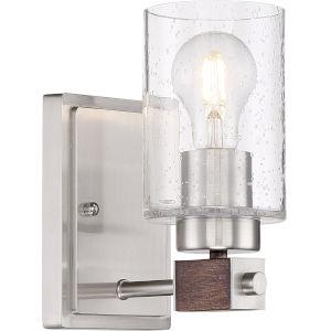 Arabel Nickel One-Light Vanity