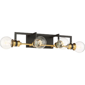 Intention Brass Four-Light Vanity