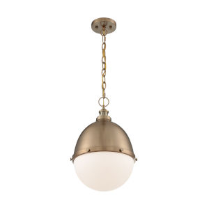 Ronan Burnished Brass 19-Inch One-Light Pendant