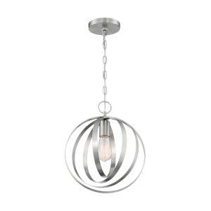 Pendleton Brushed Nickel One-Light Pendant
