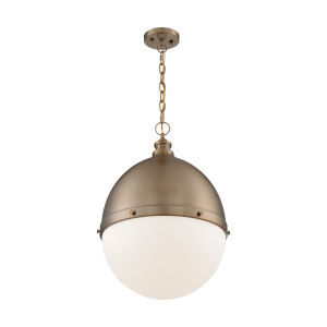 Ronan Burnished Brass 25-Inch One-Light Pendant