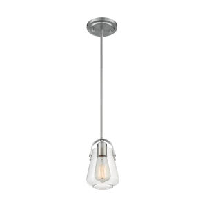 Skybridge Brushed Nickel One-Light Mini Pendant