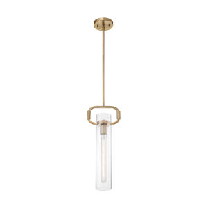 Teresa Burnished Brass 20-Inch One-Light Pendant
