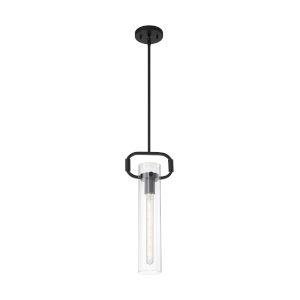 Teresa Matte Black 20-Inch One-Light Pendant