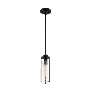 Marina Matte Black One-Light Mini Pendant