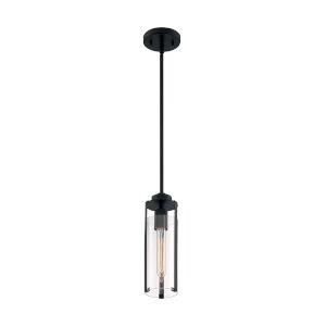 Marina Matte Black One-Light Mini Pendant