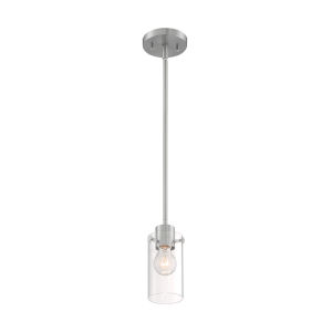 Sommerset Brushed Nickel One-Light Mini Pendant