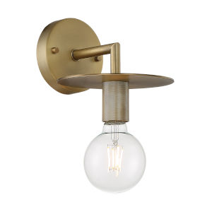 Bizet Vintage Brass One-Light Wall Sconce