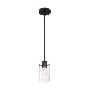 Sommerset Matte Black One-Light Mini Pendant