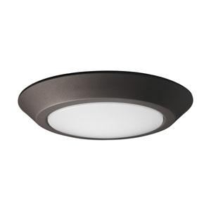 Mahogany Bronze 7-Inch LED Flush Mount