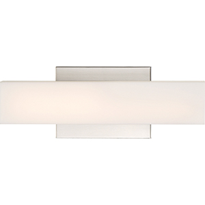 Jess Brushed Nickel LED 14-Inch Wall Sconce