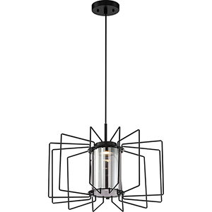 Wired Aged Bronze LED 36-Inch Pendant
