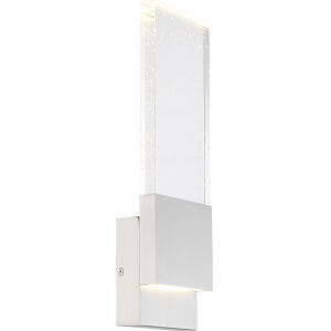 Ellusion Nickel One-Light ADA LED Wall Sconce with 3000K