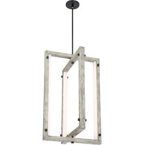 Alta Wood 18-Inch One-Light LED Pendant