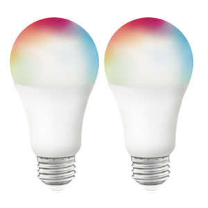 Starfish White RGB and Tunable LED Bulb, Pack of 2