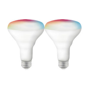 Starfish White 9.5W RGB and Tunable LED Bulb, Pack of 2