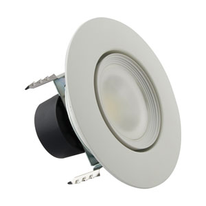 ColorQuick White 6-Inch LED Directional Retrofit Downlight