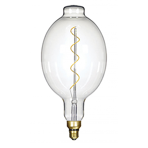 Transparent Seven-Inch LED Filament Bulb