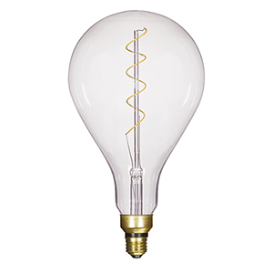 Transparent Six-Inch LED Filament Bulb