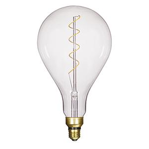 SATCO Transparent Six-Inch LED Filament Bulb
