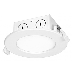 SATCO White LED Dimmable 3000K 8.5Watt Retrofit