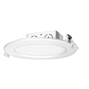 SATCO White LED Seven-Inch Dimmable 5000K 11.6Watt Retrofit