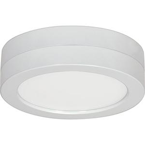 SATCO Blink White Nine-Inch Round Flush Module ONLY