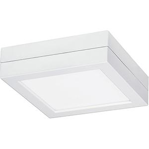 SATCO Blink White Nine-Inch Square Flush Module ONLY