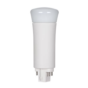 SATCO LED PL G24q 9 Watt LED CFL Replacements Pin Based Bulb with 3000K 950 Lumens 82 CRI and 120 Degrees Beam