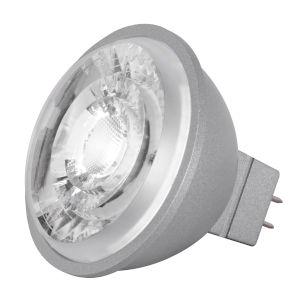 SATCO LED MR16 GU5.3 8 Watt MR LED Bulb with 3500K 490 Lumens 90+ CRI and 15 Degrees Beam 12 Volt