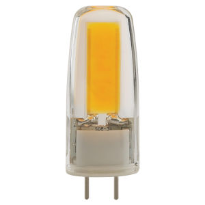 SATCO Clear LED T4 Repl. 4 Watt Minature LED Bulb with 5000K 480 Lumens 80 CRI and 360 Degrees Beam