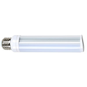 SATCO Frosted White LED PL Medium 8 Watt LED CFL Replacements Pin Based Bulb with 3000K 675 Lumens 83 CRI and 120 Degrees