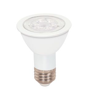 SATCO Array Amber LED PAR20 Medium 7 Watt PAR LED Bulb with K 340 Lumens CRI and 40 Degrees Beam