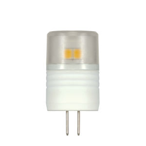 SATCO Clear LED T3 Repl. 2.3 Watt Minature LED Bulb with 5000K 180 Lumens 80 CRI and 360 Degrees Beam