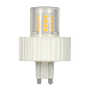 SATCO Clear LED T4 Repl. 5 Watt Minature LED Bulb with 5000K 450 Lumens 80 CRI and 360 Degrees Beam