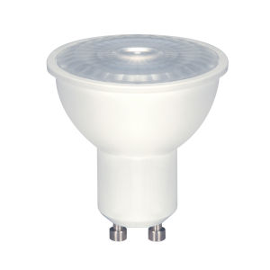 SATCO Array White LED MR16 Sub 6.5 Watt MR LED Bulb with 5000K 500 Lumens 80 CRI and 40 Degrees Beam