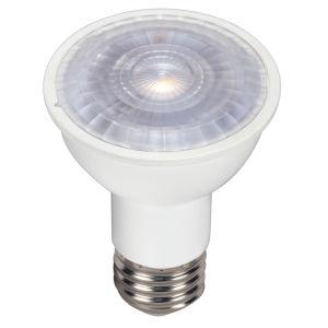 SATCO LED PAR16 Medium 6.5 Watt PAR LED Bulb with 5000K 500 Lumens 80 CRI and 40 Degrees Beam