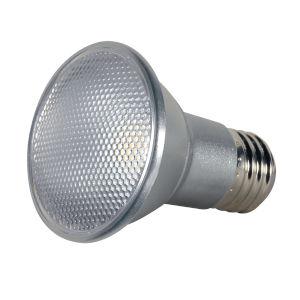 SATCO Clear LED PAR20 Medium 7 Watt PAR LED Bulb with 3500K 525 Lumens 80 CRI and 40 Degrees Beam