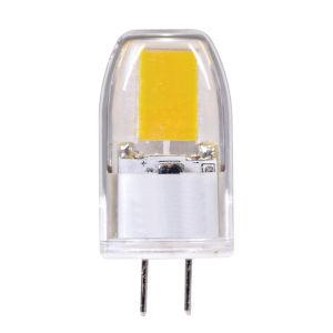 SATCO Clear LED T4 G6.35 3 Watt MR LED Bulb with 3000K 300 Lumens 80 CRI and 360 Degrees Beam 12 Volt