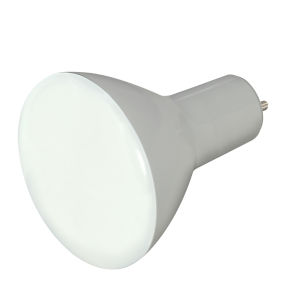 SATCO Frosted White LED BR30 GU24 9.5 Watt BR LED Bulb with 2700K 750 Lumens 80 CRI and 105 Degrees Beam