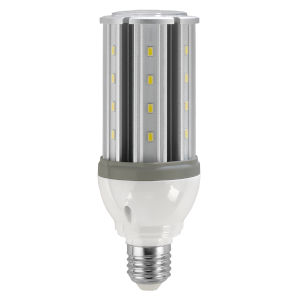 SATCO LED Medium LED 10 Watt HID Replacements Bulb with 5000K 1200 Lumens 80+ CRI and 330 Degrees Beam 12 Volt