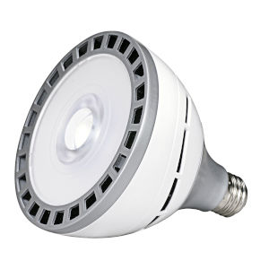 SATCO LED PAR38 Medium 18 Watt PAR LED Bulb with 3000K 1950 Lumens 83 CRI and 25 Degrees Beam
