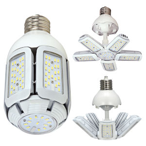SATCO LED Medium LED 30 Watt HID Replacements Bulb with 2700K 3660 Lumens 83 CRI and 360 Degrees Beam