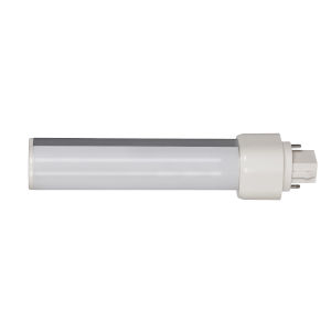 SATCO Frosted LED PL G24d 9 Watt LED CFL Replacements Pin Based Bulb with 4000K 900 Lumens 82 CRI and 120 Degrees Beam