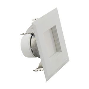 ColorQuick White LED Square Recessed Retrofit Downlight, 6.5W