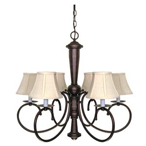 Mericana Six-Light Chandelier