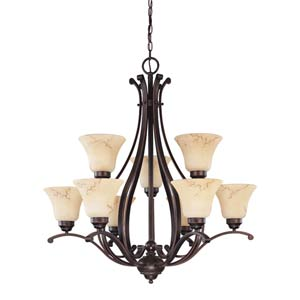 Anastasia Nine-Light Chandelier